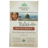[Organic India] Tulsi Teas - Bags Red Chai Masala  At least 95% Organic