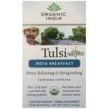 [Organic India] Tulsi Teas - Bags India Breakfast  At least 95% Organic