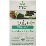 [Organic India] Tulsi Teas - Bags Peppermint  At least 95% Organic
