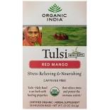 [Organic India] Tulsi Teas - Bags Red Mango  At least 95% Organic