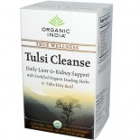 [Organic India] Tulsi Teas - Bags Cleanse  At least 95% Organic