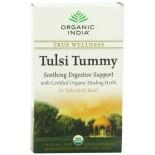 [Organic India] Tulsi Teas - Bags Tummy  At least 95% Organic