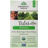 [Organic India]  Tea, Tulsi Moringa  At least 95% Organic
