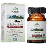 [Organic India]  Oh Boy! Men`s Virility  At least 70% Organic