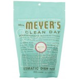 [Mrs Meyers Clean Day] Dishwashing Soaps Automatic, Packs, Basil