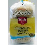 [Schar] Bread Cinnamon Raisin Bagels
