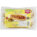 [Schar] Bread Rolls, Hot Doge, 4 Ct