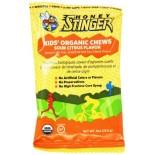[Honey Stinger] Kids-Organic Chews Sour Citrus  At least 95% Organic