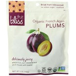 [Fruit Bliss] Soft & Moist Dried Fruit French Agen Plums  100% Organic