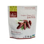 [Fruit Bliss] Soft & Moist Dried Fruit Deglet Nour Dates  100% Organic
