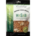 [Kameda Crisps] Premium Rice Snacks w/Roasted Peanuts Wasabi