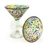 [Bambeco] Glass-8 OZ Martini, Confetti