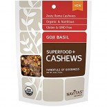 [Navitas Naturals] Cashews Goji Basil Superfood  At least 95% Organic