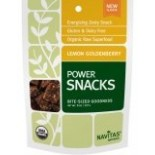 [Navitas Naturals] Bite-Sized Goodness Power Snack, Lemon Goldenberry  At least 95% Organic