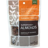 [Navitas Naturals]  Tumeric Tamari Superfood+Almonds  At least 95% Organic