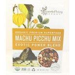[Essential Living Foods] Superfood Snack Blends Machu Picchu Trail Mix  At least 95% Organic