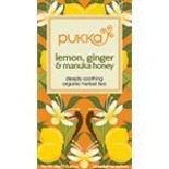 [Pukka Herbs] Herbal Teas Lemon Ginger & Manuka Honey  At least 95% Organic