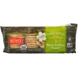 [Koyo] Organic Rice Crackers Black Sesame Tamari  At least 95% Organic