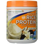 [Growing Naturals] Rice Protien Powder Raw, Vanilla Blast  At least 95% Organic
