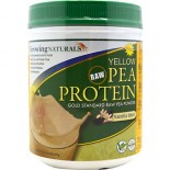 [Growing Naturals] Yellow Pea Protien Powder Raw, Vanilla Blast