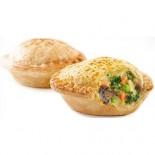 [Boomerang`S Pies] Handheld Aussie Pies Curry Veggie (Vegan 2 Pk)