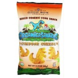 [Good Boy Organics] Organicasaurus Baked Corn Snack Cheddar Cheese  At least 95% Organic