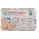 [The Honest Co]  Diapers,Bloom Size N
