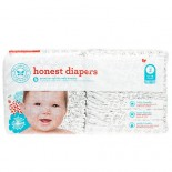 [The Honest Co]  Diapers, Skulls Size 2 S/M