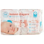 [The Honest Co]  Diapers, Giraffes Size N 0