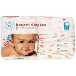 [The Honest Co]  Diapers, Giraffes Size 1S