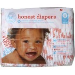 [The Honest Co]  Diapers, Giraffes Size 4L