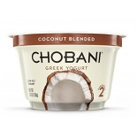 [Chobani] Greek Yogurt, Low Fat, Blended Coconut, Blended