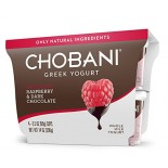 [Chobani] Greek Yogurt, Whole Milk Raspberry & Dark Chocolate