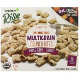 [Sprout] Organic Rise Morning MultiGrain Crunch Bites Purple Berry & Carrot  At least 95% Organic