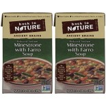 [Back To Nature] Reduced Sodium Soup Minestrone w/Farro
