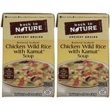 [Back To Nature] Reduced Sodium Soup Chicken Wild Rice w/Kamut