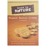 [Back To Nature] Cookies Peanut Butter Creme Sandwich