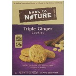 [Back To Nature] Cookies Triple Ginger