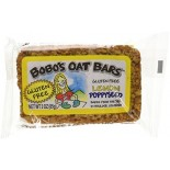 [Bobo`S Oat Bars]  Lemon Poppyseed, Gluten Free