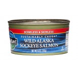 [Wild Planet] Canned Seafood Wild Sockeye Salmon