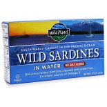 [Wild Planet] Canned Seafood Wild Sardines In Water, NSA