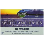 [Wild Planet] Canned Seafood Wild Anchovies In Water, White