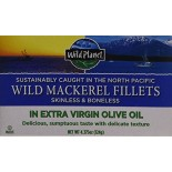 [Wild Planet] Canned Seafood Wild Mackerel Fillets in EVOO