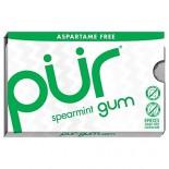 [Pur Gum]  Spearmint Gum 9Pc