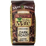 [The Mate` Factor] Yerba Mate` Loose Tea Dark Roast  At least 95% Organic