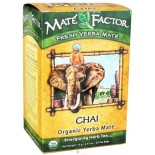 [The Mate` Factor] Yerba Mate` Tea Bags Chai  At least 95% Organic