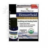 [Forces Of Nature] Homeopathic Medicine Hemorrhoid Control  At least 95% Organic