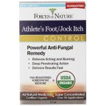 [Forces Of Nature] Homeopathic Medicine Athlete`s Foot/Jock Itch Cntrl  At least 95% Organic