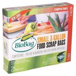 [Biobag] Bio-Degradable Bags Waste Bags, 3 Gallon