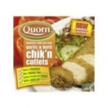 [Quorn]  Garlic & Herb Chik`n Cutlet